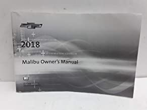 2018 Chevy Chevrolet Malibu Owners Manual Guide Book