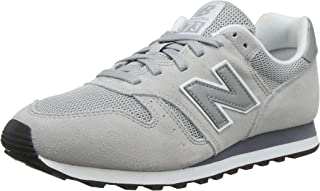 New Balance Men's 373 Suede Trainers, Grey
