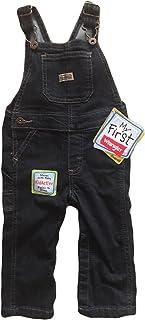 Wrangler Baby Toddler Infant Denim Bib Overalls - My First