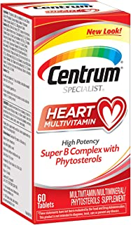 Centrum Specialist Heart Multivitamin/Multimineral Supplement with Super B Complex Vitamins, Antioxidants and Phytosterols...