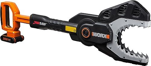 WORX WG329E Kettensäge Jawsaw für sicheres Sägen von Ästen – auf dem Boden oder..