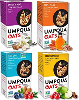 Umpqua Oats | All Natural, Premium Oatmeal Packets | No Mush, Custom Milled | Non-GMO (Variety Pack, 24 Packets)