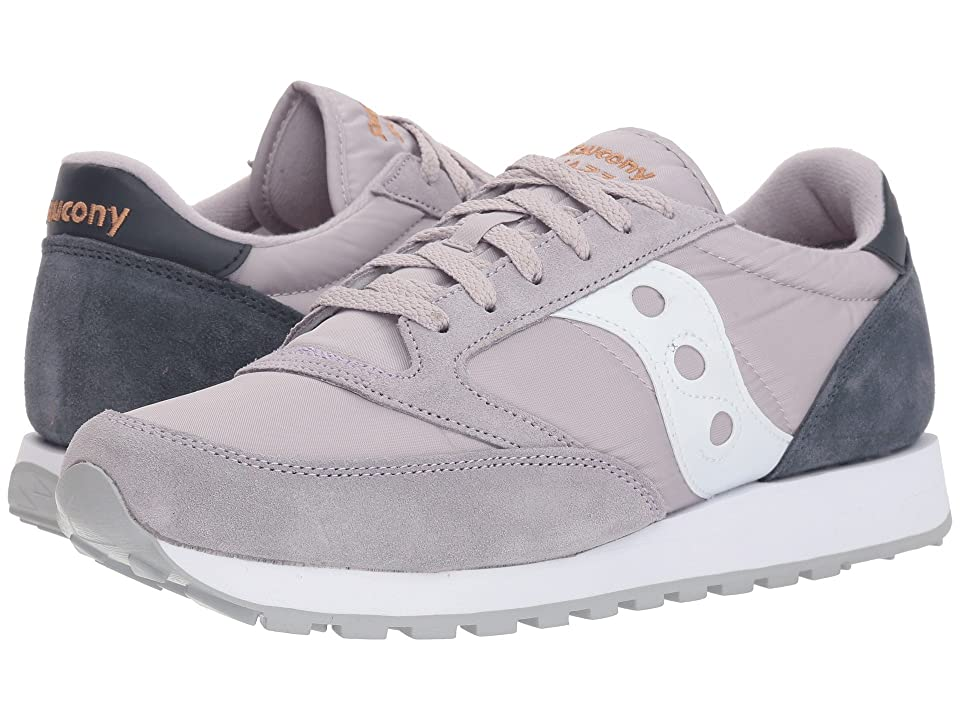Saucony Originals Jazz Original (Grey/Navy) Men