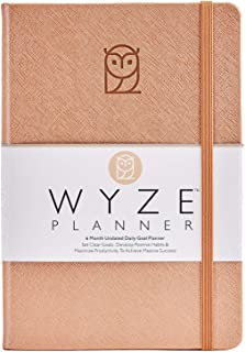 $29 » Wyze Planner - Goal Setting Planner to Increase Productivity and Achieve Personal and Business Goals. 6 Month Undated Dail...
