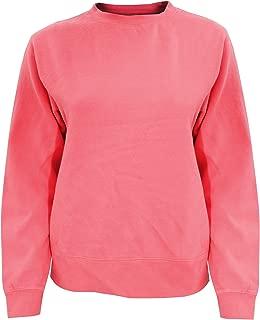 Comfort Colors Womens/Ladies Crew Neck Sweatshirt (L) (Watermelon)
