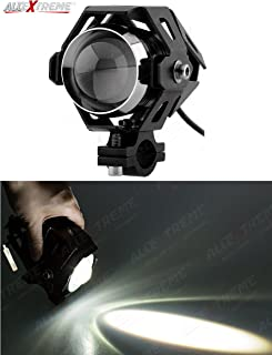 AllExtreme EXU5BW1 U5 CREE LED Fog Light Work Lamp with Hi/Low, Flashing Beam for Cars and Motorcycles (10W, White Light, 1 PC)