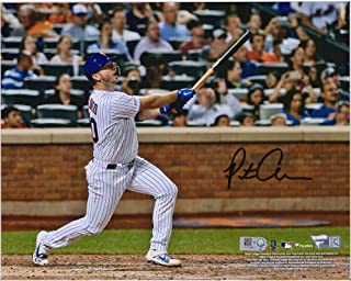 """Pete Alonso New York Mets Autographed 8"""" x 10"""" MLB Rookie Record Home Run #53 Photograph - Fanatics Authentic Certified"""