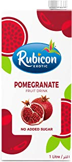 Rubicon Pomegranate Juice Drink No Added Sugar 1L (Pack of 1)