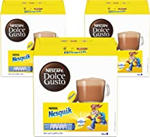 كبسولات مشروب الشوكولاتة نسكويك من نسكافية دولتشي غوستو (48 كبسولة لعمل 48 كوب)