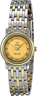 Omega Women's 4370.12 DeVille Champagne Dial Watch