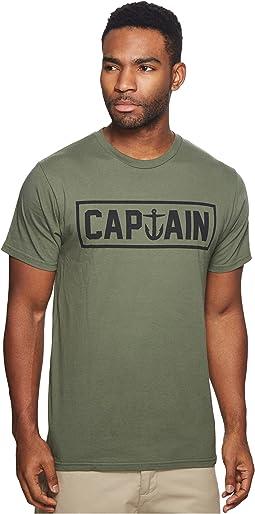 Captain Fin Naval Captain Tee