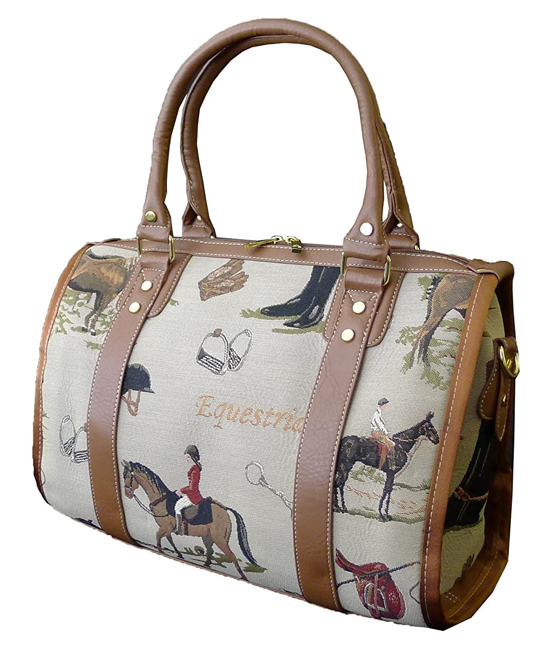 Signare 93038-Horse Horse Tapestry Large Purse