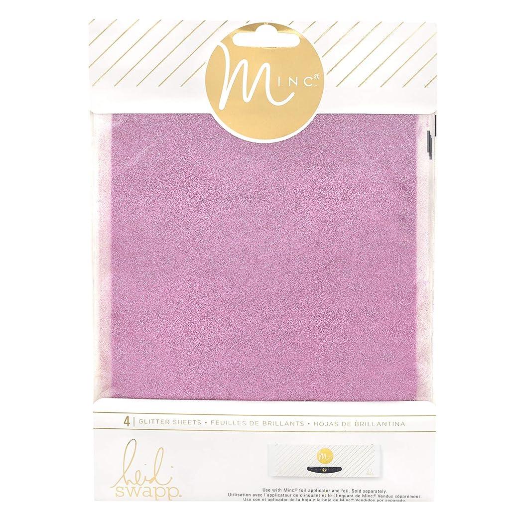 Heidi Swapp 314484 Glitter Sheets, Pink