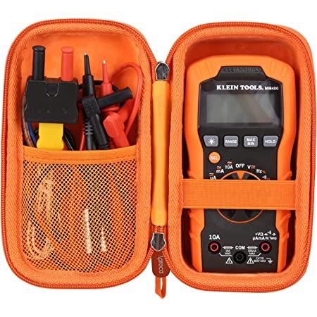 Aproca Hard Carrying Storage Case, for Klein Tools MM400 Multimeter