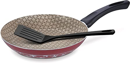 Tramontina Non-stick 24cm Frying Pan with FREE Spatula Paris Red