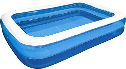 """wholesale Jilong new arrival sale Rectangular Family Inflatable Pool for Ages 6+, Blue, 103"""" x 69"""" x 20"""" outlet sale"""