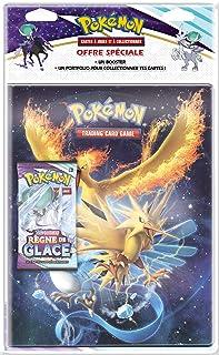 Pokémon - Pack Portfolio 180 Cartes + 1 Booster - Epée et Bouclier - Règne de Glace (EB06) - Jeu de Cartes à Collectionner...