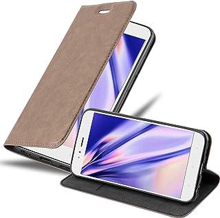 Cadorabo Funda Libro para Xiaomi Mi A1 / Mi 5X en MARRÓN CAFÉ – Cubierta Proteccíon con Cierre Magnético, Tarjetero y Función de Suporte – Etui Case Cover Carcasa