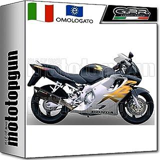 GPR - Tubo de Escape Hom Furore Negro para Honda CBR 600 F 1991 91 1992 92 1993 93 1994 94