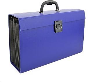 Rapesco Expanding Box File Document Organiser 19 Pocket (Blue)