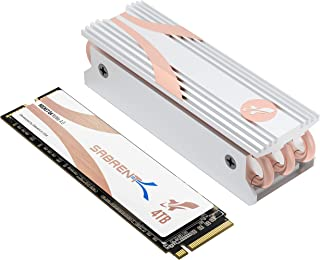 Sabrent 4TB Rocket Q4 NVMe PCIe 4.0 M.2 2280 Internal SSD Maximum Performance Solid State Drive with Heatsink | R/W 4900/3...