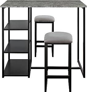 Descubre tu estilo - Conjuntos de mesa y sillas | Amazon.com
