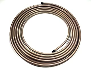 "25 ft of Copper Nickel Fuel/Transmission Line Coil. 1/2"" O.D. Tube"