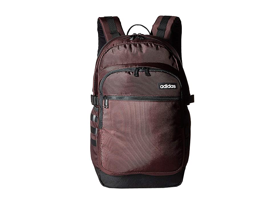 adidas Core Advantage Backpack (Night Red/Black) Backpack Bags