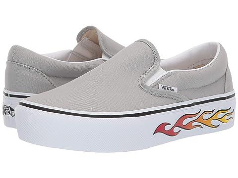 0f384c4ac0d Vans Classic Slip-On Platform at Zappos.com