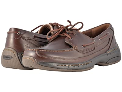 Dunham Shoreline (Brown Leather) Men