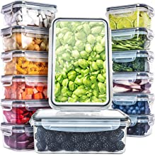 Fullstar Food Storage Containers with Lids (14 Pack) - Plastic Containers with Lids BPA-Free