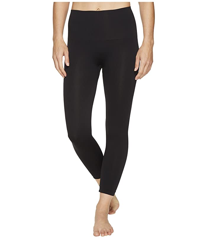 Spanx Look At Me Now Cropped Seamless Leggings (Very Black) Women
