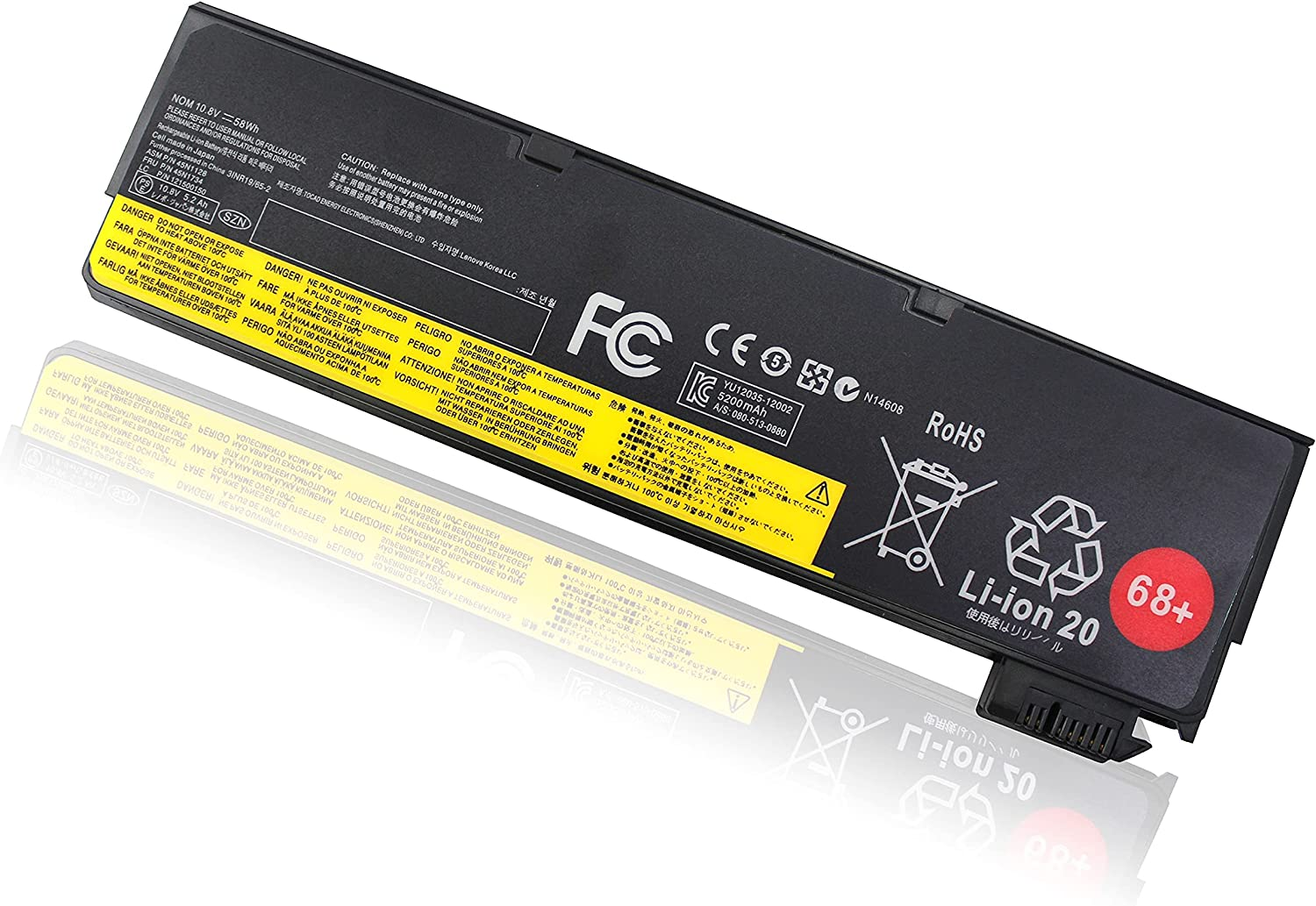 45N1128 X240 Battery Sales for sale Compatible Max 54% OFF with T450 T4 T440s ThinkPad T440