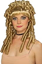 blonde ringlet wig