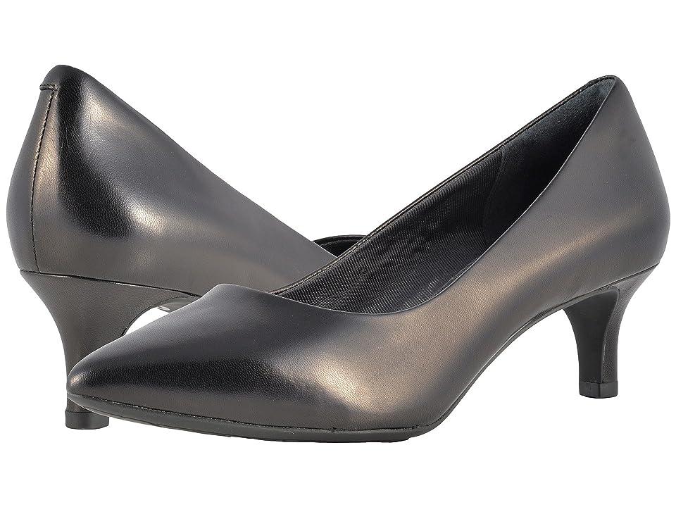 Rockport Total Motion Kalila Pump (New Black Leather) High Heels