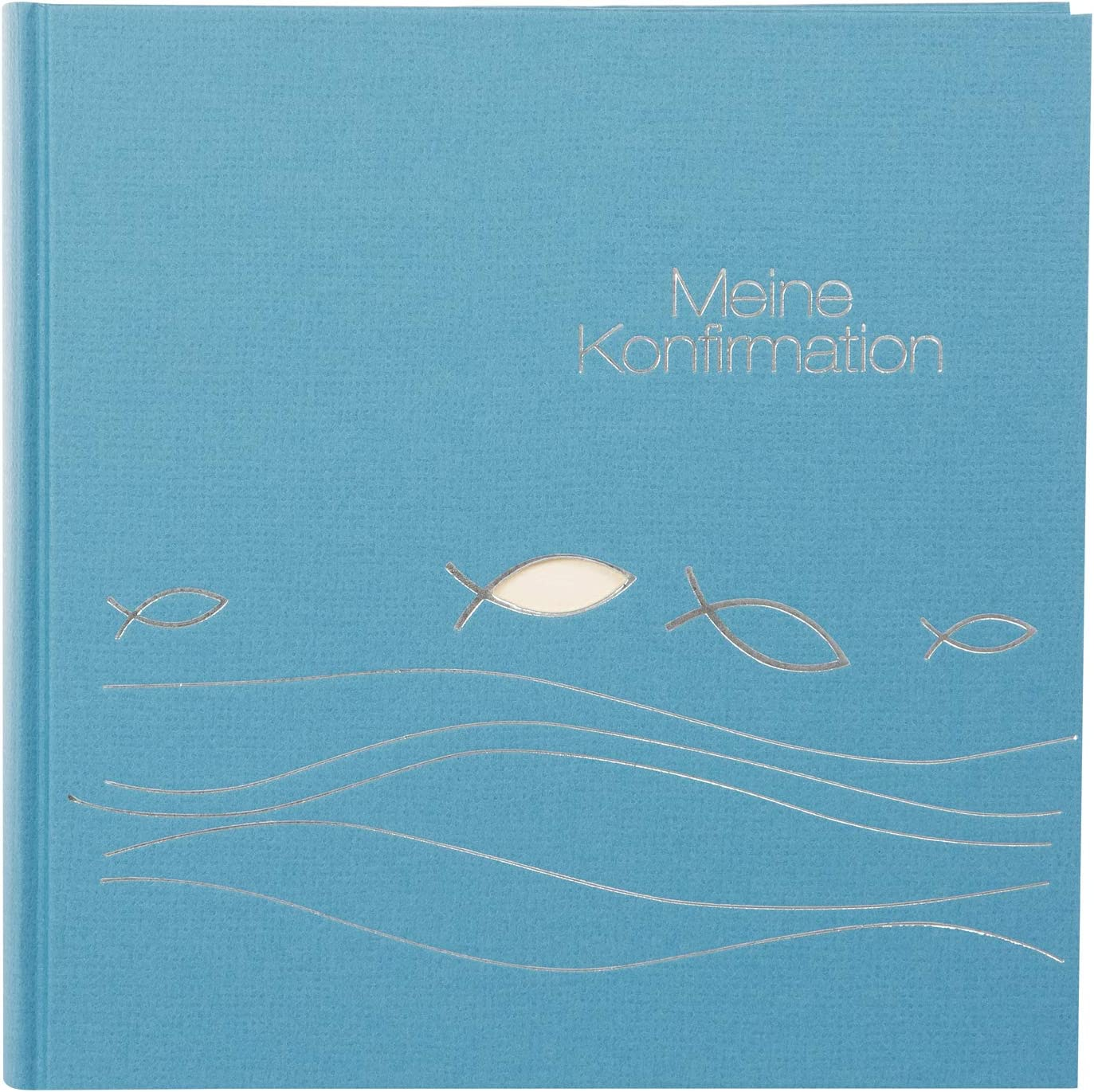 Goldbuch Max 79% OFF All stores are sold Photo Album for Confirmation Ichthys W cm x 25 60