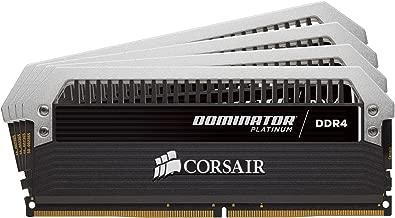 Corsair Dominator Platinum 32GB 4x8GB DDR4 3866 PC4-30900 C16 for Intel 100/200 Series (CMD32GX4M4B3866C18)