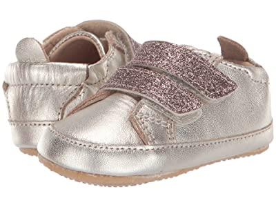 Old Soles Bambini Glam (Infant/Toddler) (Titanium/Glam Chocolate) Boy