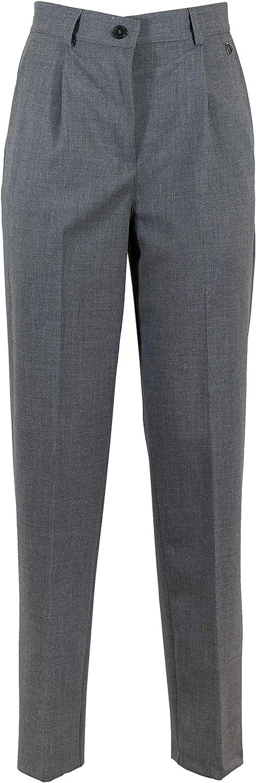 Dixie Women's PBLNIBI2grey Grey Cotton Pants