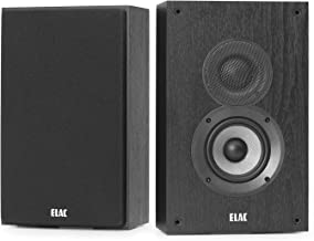 ELAC Debut 2.0 OW4.2 On-Wall Speakers, Black (Pair)