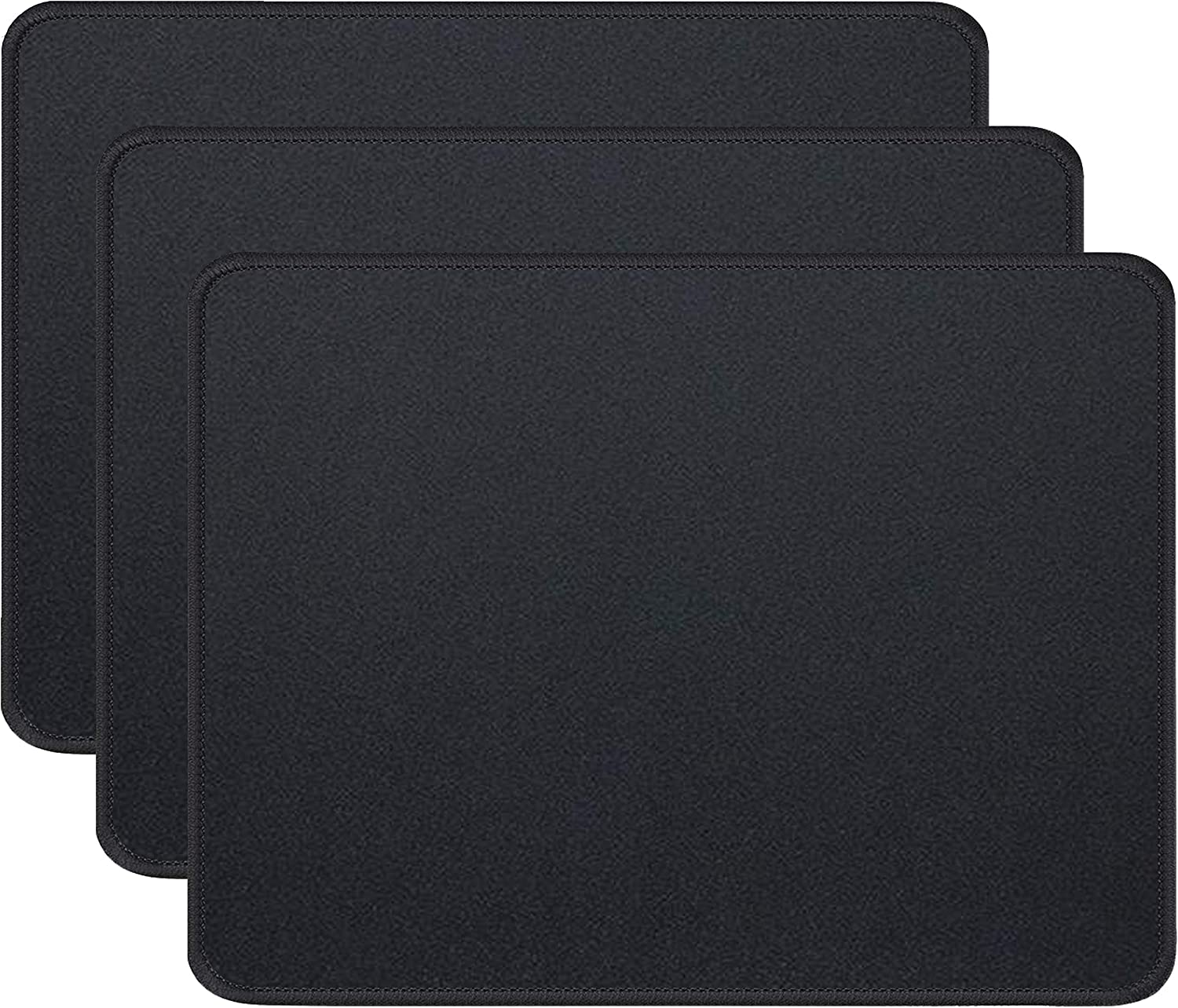 Popular shop is the lowest price challenge SALENEW very popular Gimnor 3 Pack Standard Mouse Pad Comfortabl with Edges Stitched