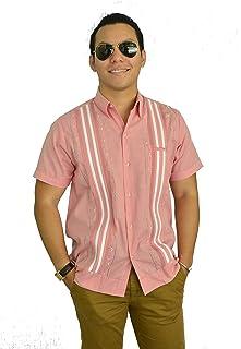 Camisa Guayabera Yucateca Casual Lino Manga Corta Original_cfkkkplum12