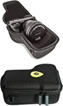 GoScope Alpha GO CASE {MICBERGSMA Edition} Compact Hard case Compatible with Sony Alpha a6000, a6100, a6300, a6400, a6500, a6600 Camera Body w/Lens Sizes 10mm-105mm [FITS Camera & Lens]