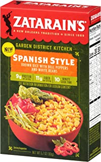 Zatarain's Spanish Style Brown Rice With Bell Peppers And White Beans, 5.7 oz