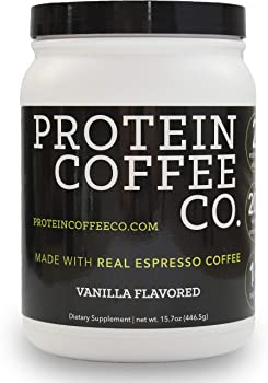 Protein Coffee Co. Nutrition Shake - Coffee Protein with 20g of Protein and 2 Shots of Espresso - Coffee Protein Powd...