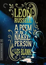 A Poem Is a Naked Person The Criterion Collection