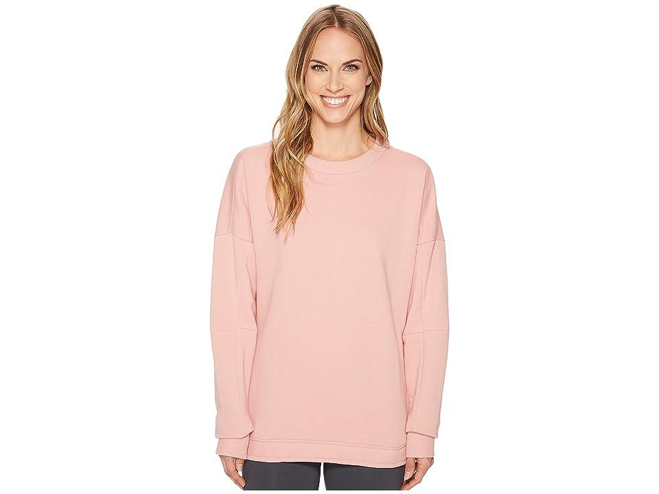 Reebok Training Essentials Crew Neck Sweatshirt (Chalky Pink) Women