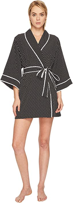 Kate Spade New York - Mini Dot Crepe Robe
