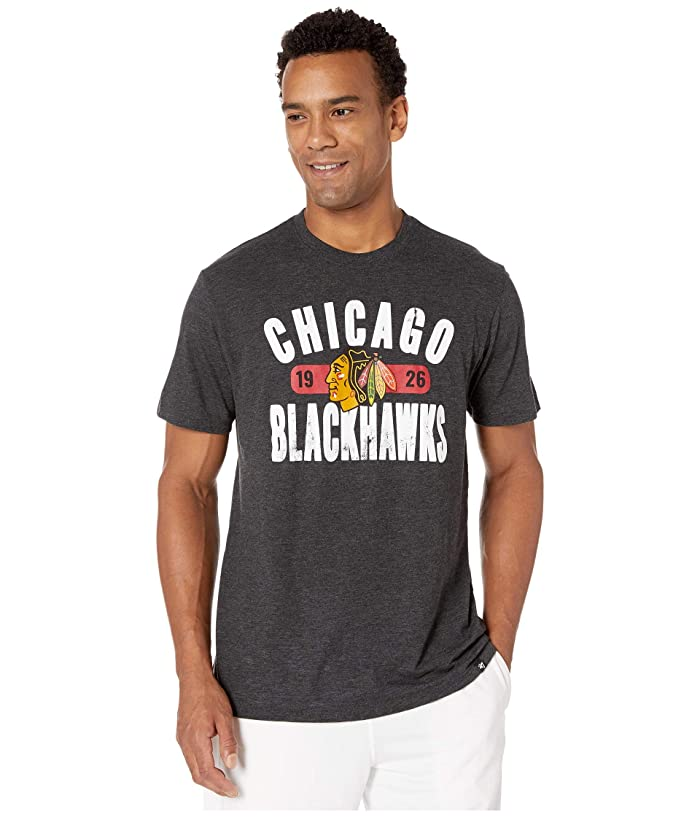 Chicago Blackhawks Milestone Match Tee Jet Black