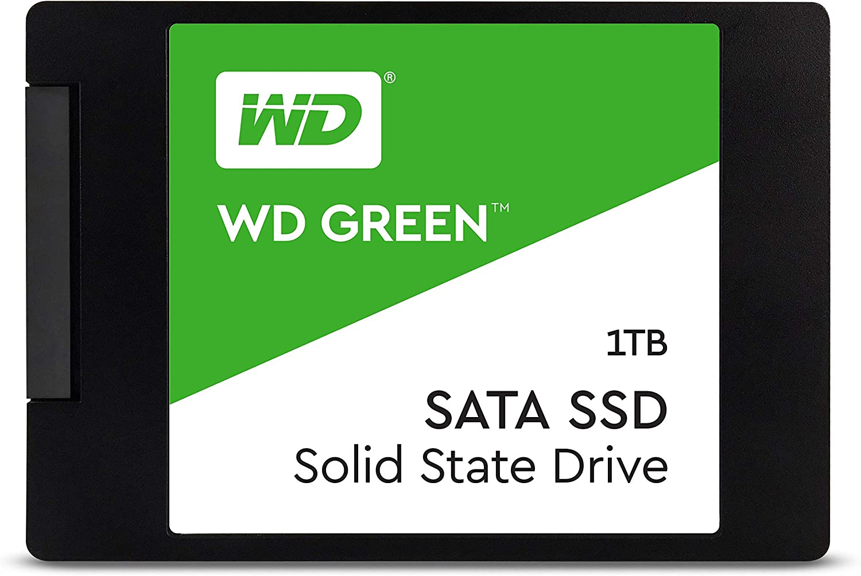 Western Digital 1TB WD Green Internal PC SSD Solid State Drive - SATA III 6 Gb/s, 2.5